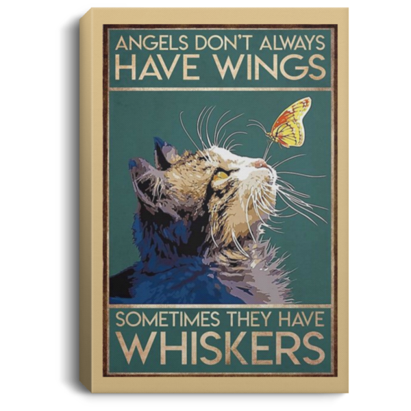 redirect 45 600x600 - Cat angels don't always have wings sometimes they have whiskers poster