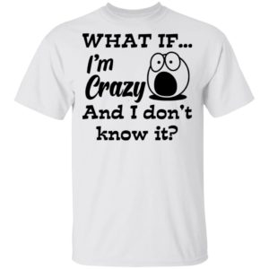 redirect 456 300x300 - What if i'm crazy and i don't know it shirt