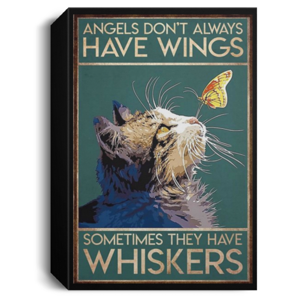 redirect 48 600x600 - Cat angels don't always have wings sometimes they have whiskers poster