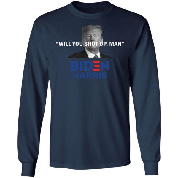redirect 4821 600x600 - Trump will you shut up man Biden Harris shirt