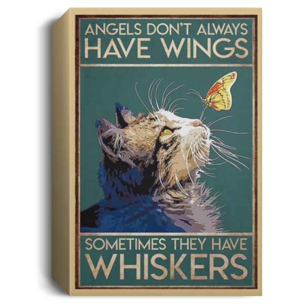 redirect 49 600x600 - Cat angels don't always have wings sometimes they have whiskers poster