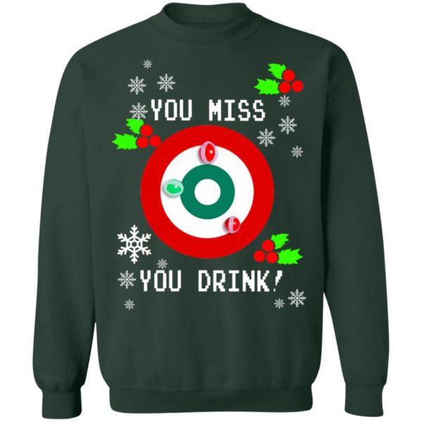 redirect 1293 600x600 - You miss you drink Christmas sweatshirt