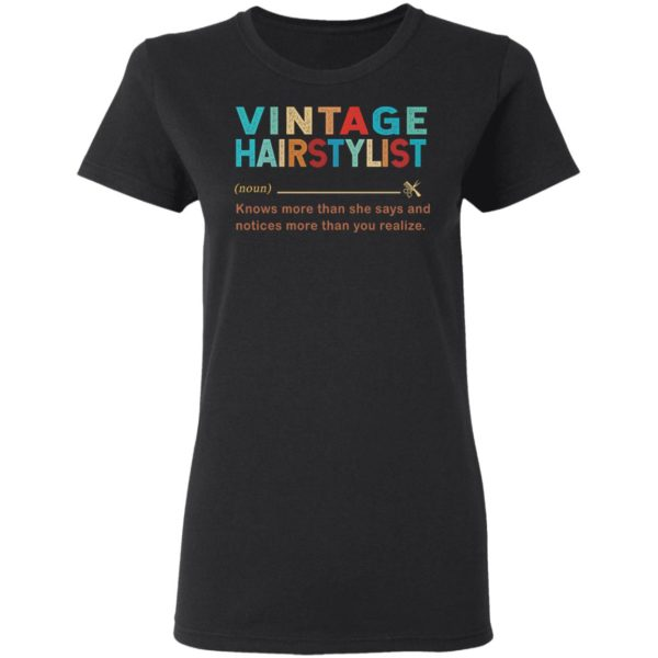 redirect 1420 600x600 - Vintage hairstylist knows more than she says and notices shirt