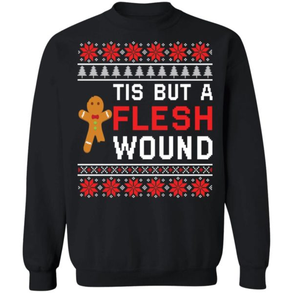 redirect 2009 600x600 - Tis but a flesh wound Christmas sweater