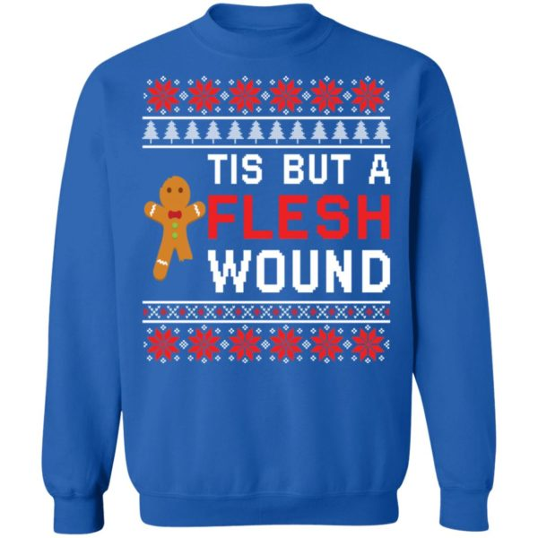 redirect 2012 600x600 - Tis but a flesh wound Christmas sweater