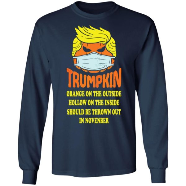 redirect 2518 600x600 - Trumpkin Orange on the outside hollow on the inside should shirt