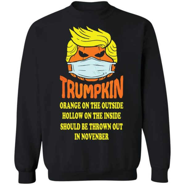 redirect 2521 600x600 - Trumpkin Orange on the outside hollow on the inside should shirt