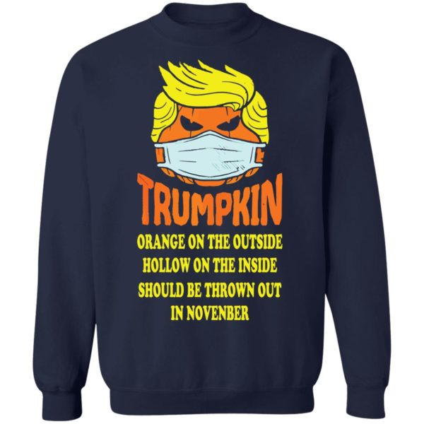 redirect 2522 600x600 - Trumpkin Orange on the outside hollow on the inside should shirt