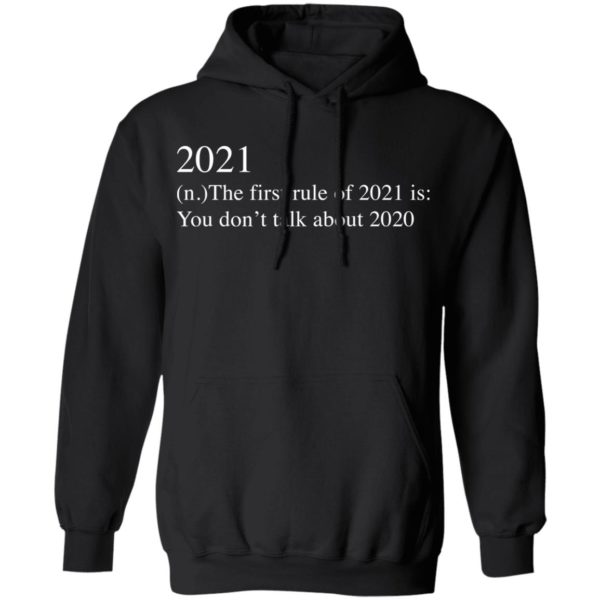 redirect 2740 600x600 - 2021 the first rule of 2021 is you don't talk about 2020 shirt