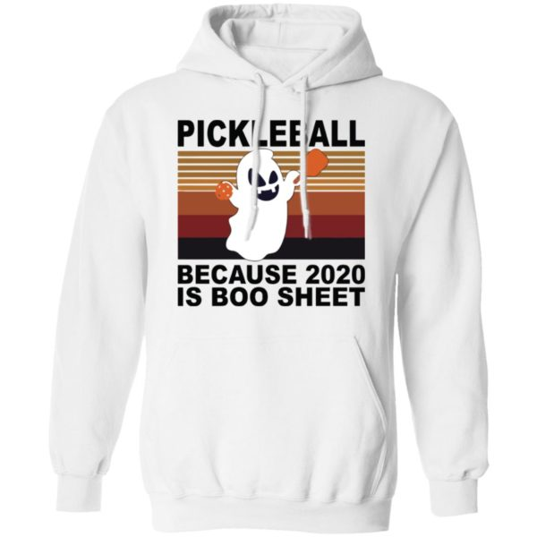 redirect 3524 600x600 - Pickleball because 2020 is boo sheet shirt