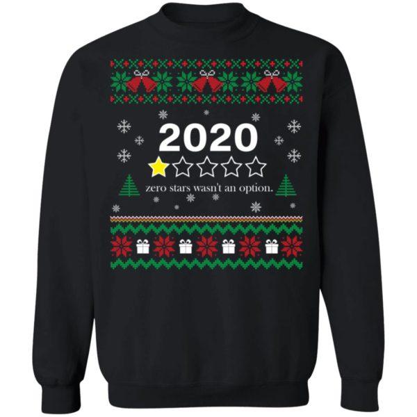 redirect 3556 600x600 - 2020 zero stars wasn't an option Christmas sweater