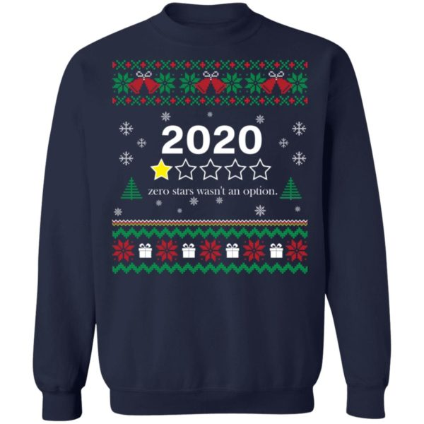 redirect 3557 600x600 - 2020 zero stars wasn't an option Christmas sweater