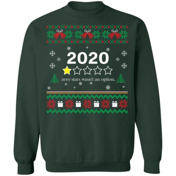 redirect 3558 600x600 - 2020 zero stars wasn't an option Christmas sweater