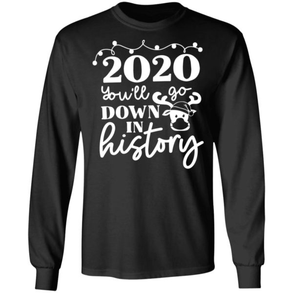 redirect 3768 600x600 - 2020 you'll go down in history Christmas sweatshirt