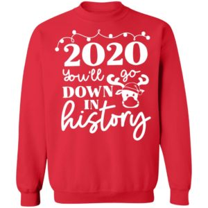 redirect 3775 300x300 - 2020 you'll go down in history Christmas sweatshirt