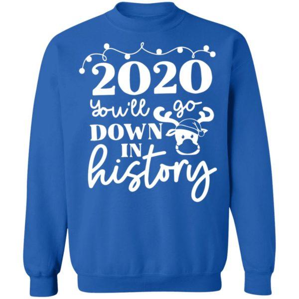 redirect 3776 600x600 - 2020 you'll go down in history Christmas sweatshirt