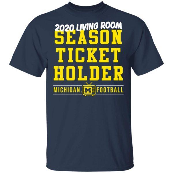 redirect 413 600x600 - 2020 living room season ticket holder Michigan football shirt