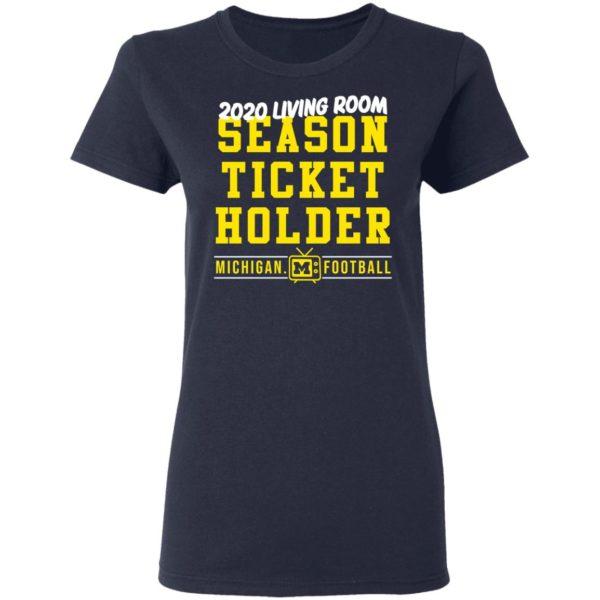 redirect 415 600x600 - 2020 living room season ticket holder Michigan football shirt