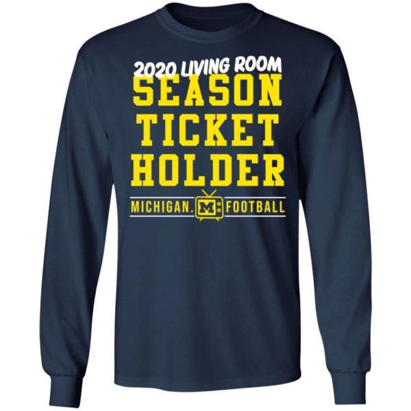 redirect 417 600x600 - 2020 living room season ticket holder Michigan football shirt