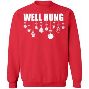 redirect 4322 300x300 - Well Hung Christmas sweatshirt
