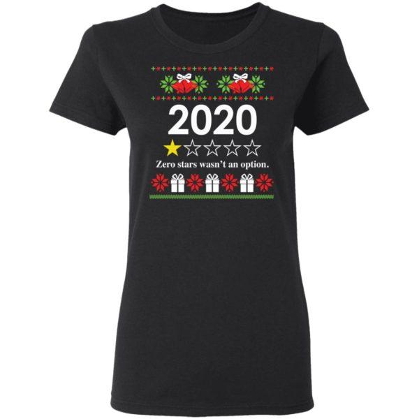 redirect 4813 600x600 - 2020 Zero stars wasn't an option Christmas sweatshirt
