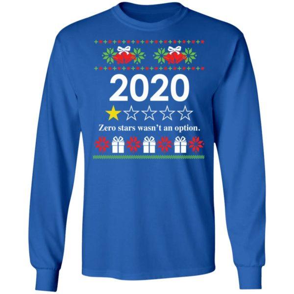 redirect 4815 600x600 - 2020 Zero stars wasn't an option Christmas sweatshirt