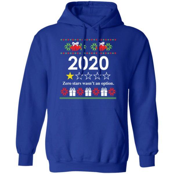 redirect 4818 600x600 - 2020 Zero stars wasn't an option Christmas sweatshirt
