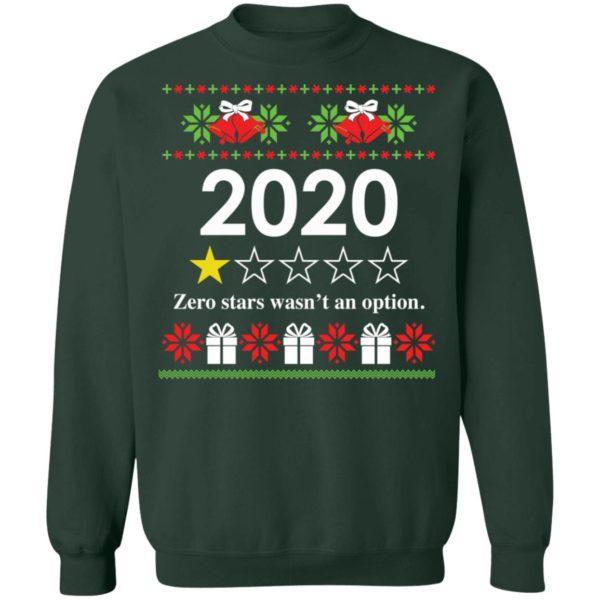 redirect 4820 600x600 - 2020 Zero stars wasn't an option Christmas sweatshirt