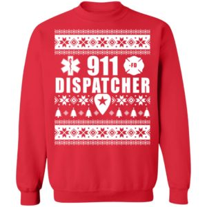 redirect 4854 300x300 - 911 Dispatcher Christmas sweater
