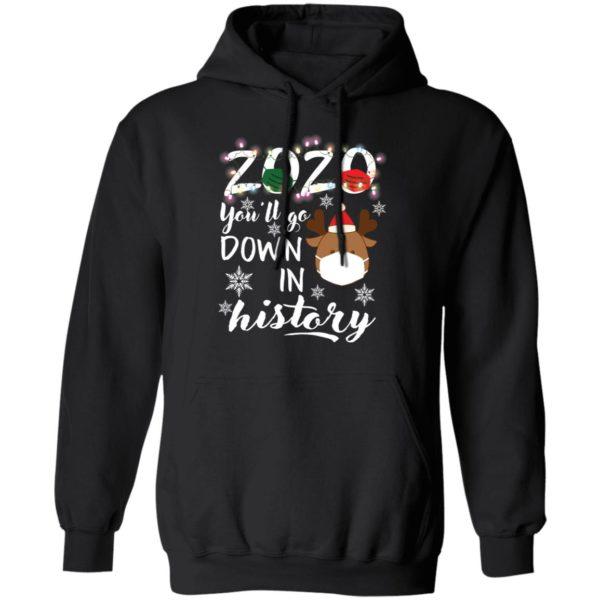 redirect 5113 600x600 - 2020 you'll go down in history Christmas sweatshirt