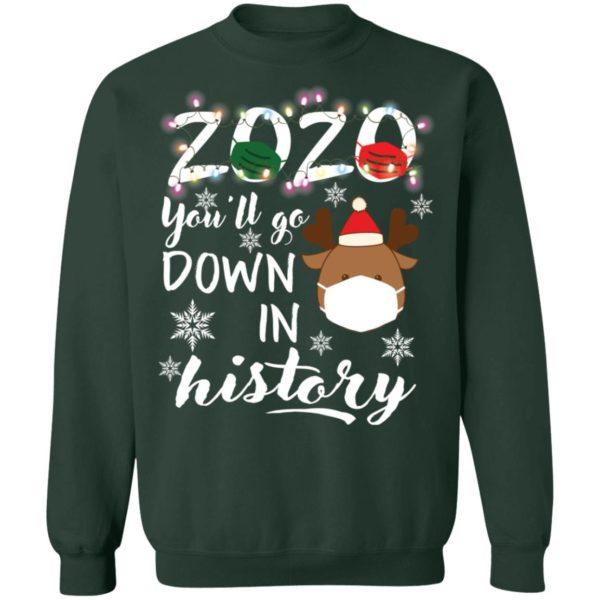 redirect 5117 600x600 - 2020 you'll go down in history Christmas sweatshirt