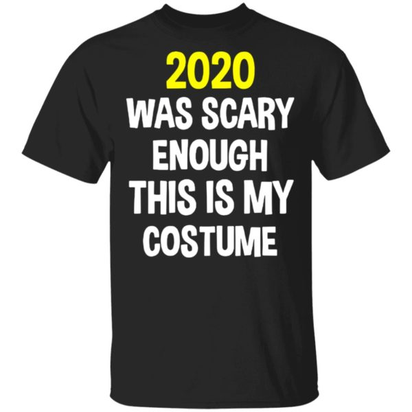 redirect 5289 600x600 - 2020 was scary enough this is my costume shirt