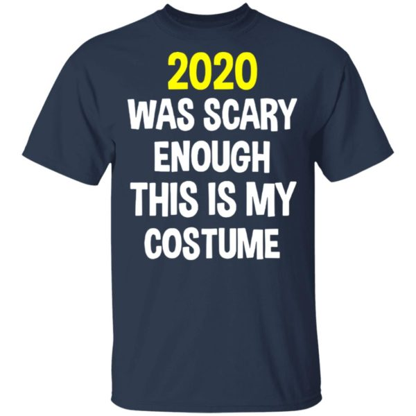redirect 5290 600x600 - 2020 was scary enough this is my costume shirt