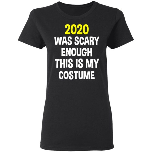 redirect 5291 600x600 - 2020 was scary enough this is my costume shirt
