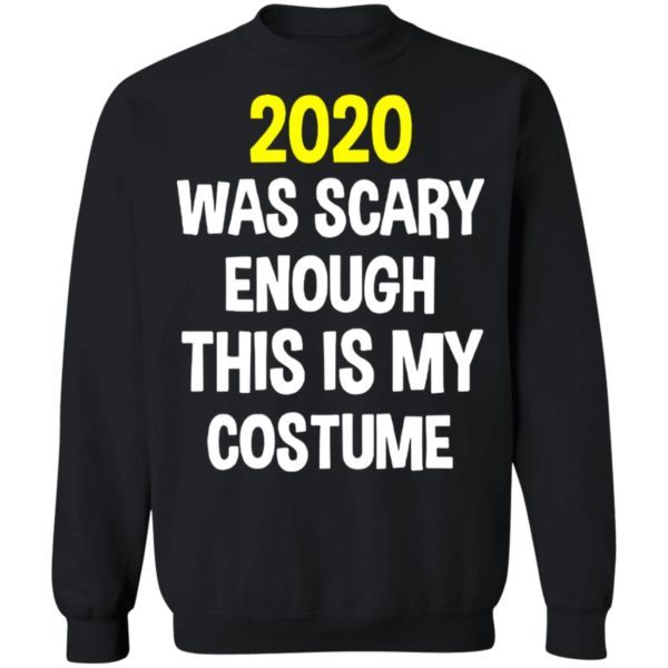 redirect 5297 600x600 - 2020 was scary enough this is my costume shirt