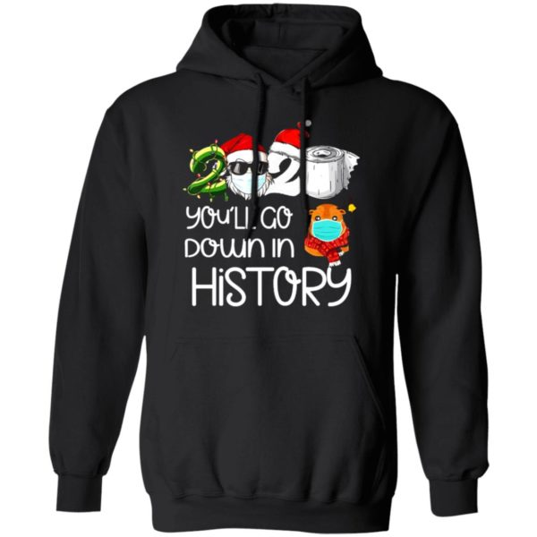 redirect 5621 600x600 - 2020 you'll go down in history Christmas sweatshirt