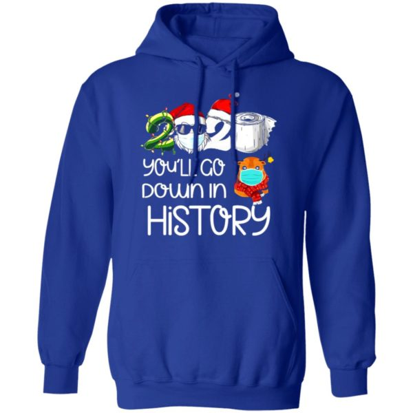 redirect 5622 600x600 - 2020 you'll go down in history Christmas sweatshirt