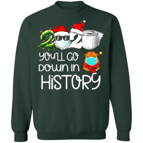 redirect 5625 600x600 - 2020 you'll go down in history Christmas sweatshirt