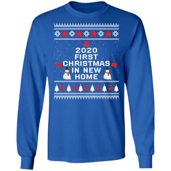 redirect 6491 600x600 - 2020 first Christmas in new home sweater