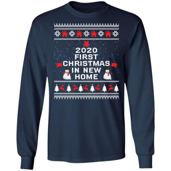 redirect 6492 600x600 - 2020 first Christmas in new home sweater