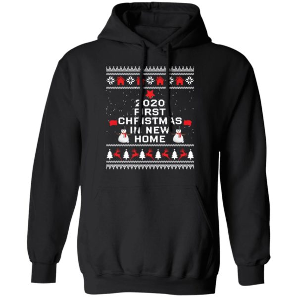 redirect 6493 600x600 - 2020 first Christmas in new home sweater