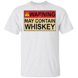 redirect 1013 300x300 - Warning may contain Whiskey shirt