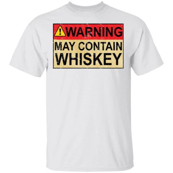 redirect 1013 600x600 - Warning may contain Whiskey shirt