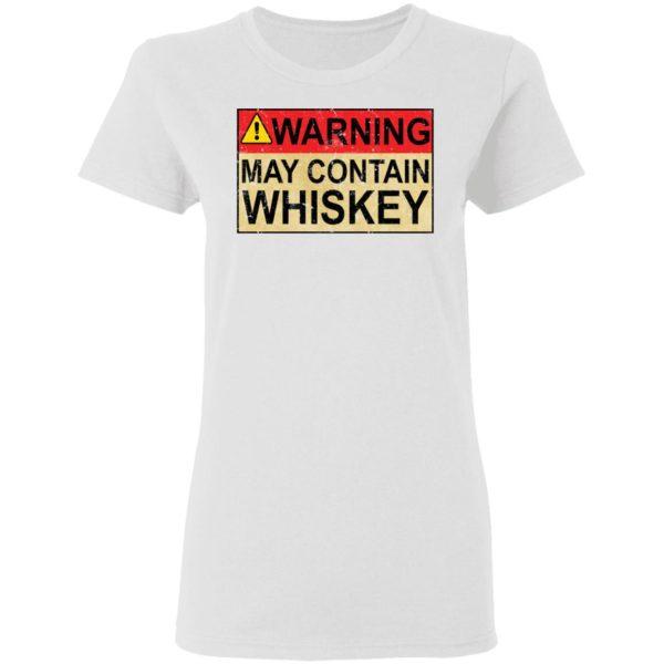redirect 1015 600x600 - Warning may contain Whiskey shirt