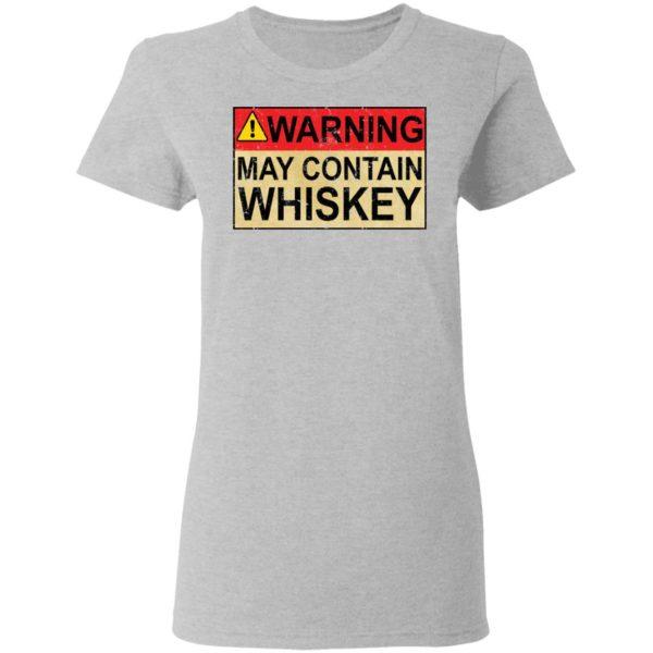 redirect 1016 600x600 - Warning may contain Whiskey shirt