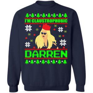 redirect 1239 300x300 - I'm Claustrophobic Darren Christmas sweatshirt