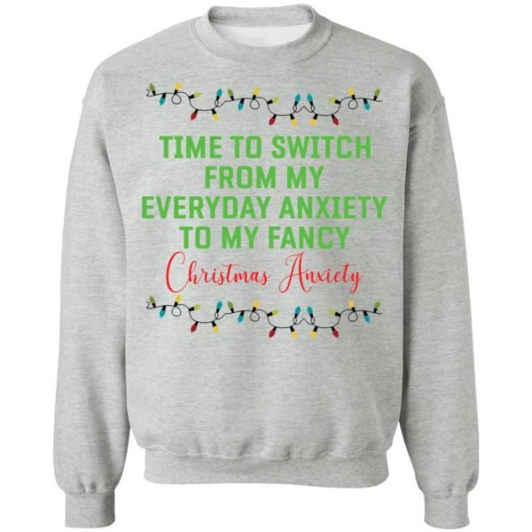 redirect 142 600x600 - Time to switch from my everyday anxiety to my fancy Christmas anxiety sweatshirt