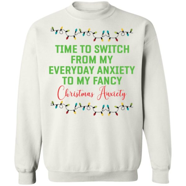 redirect 143 600x600 - Time to switch from my everyday anxiety to my fancy Christmas anxiety sweatshirt