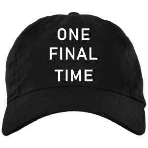 redirect 1898 300x300 - One final time hat