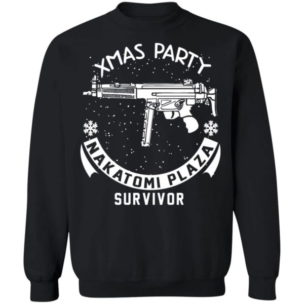 redirect 466 600x600 - Xmas Party Nakatomi Plaza Survivor Christmas sweatshirt